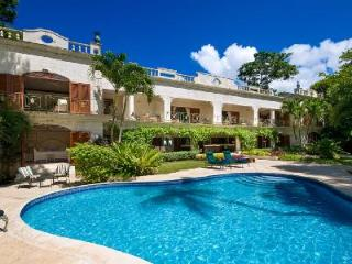 Tropical sanctuary Moon Reach set on pristine beachfront with pool & staff - Saint James vacation rentals