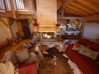 La Rosière.Grand chalet 22/12/9 pers. Sauna Jardin - La Rosiere vacation rentals