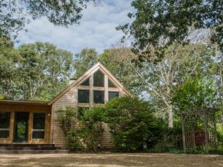 MINK MEADOWS CONTEMPORARY WITH PRIVATE ASSOCIATION BEACH - VH FELL-45 - Vineyard Haven vacation rentals