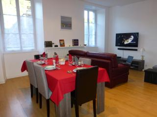 Bright apartment with a view in the heart of Jura - Salins-les-Bains vacation rentals