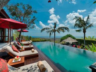 Uluwatu Bali Villa Capung luxury 3bdrm stunning views - Jimbaran vacation rentals