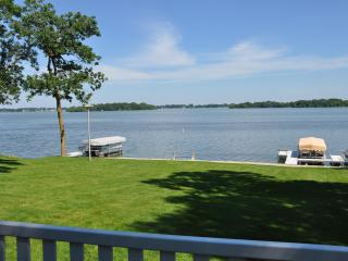 Fox Lake WI Year Round Lake Front Retreat - Wisconsin vacation rentals