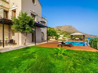A luxury seafront villa with private beach - Chania vacation rentals