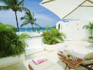 Reeds House no13 - Beachfront penthouse on Reed's Bay with sea views and private roof deck - Reeds Bay vacation rentals