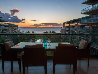 Maui Westside Properties: Hokulani 629 - Great Ocean View 3 bedroom Courtyard! - Ka'anapali vacation rentals