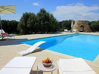 Private pool villa in olive groves with sea view! - Porto Cesareo vacation rentals