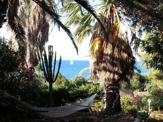 Sea side villa in the mediterranean garden - Solanas vacation rentals