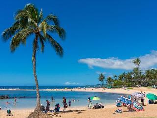 Kahala 123: Sunny ocean view Poipu condo near beach, with pool and tennis - Koloa vacation rentals