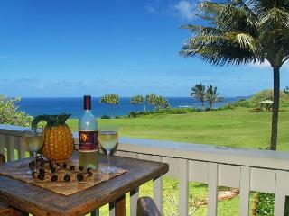 Kamahana 24: Great view and great price!  2br/2ba near beach paths and golf. - Princeville vacation rentals