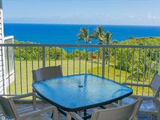 Cliffs 6302: Oceanfront views, great amenities, sleeps 8. - Princeville vacation rentals