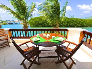 Jade View Duplex directly on  lagoon - Baie Nettle vacation rentals