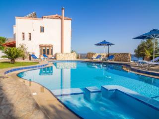 Villa Amalia with spectacular views of Souda Bay - Chania vacation rentals