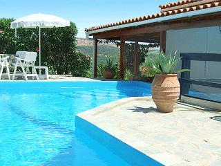FAMILY VILLA WITH PRIVATE POOL NEAR THE BEACH - Panormo vacation rentals
