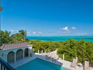 Located on the western end of Grace Bay Beach, this villa is nestled amid cloistered decks. TNC TAM - Silly Creek vacation rentals