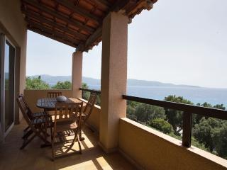 Charming Balcony with views over the Mediterranean - Olmeto vacation rentals