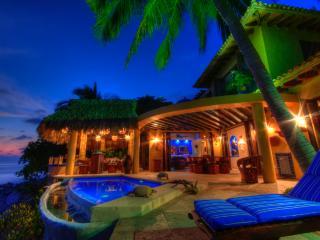 Stunning oceanfront family villa - Platanitos vacation rentals