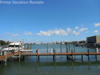 Dockside Condo 401 | BEACH views and BAY views!! - Clearwater vacation rentals