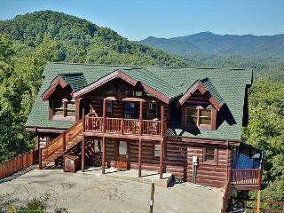 Expansive Kitchen, 7 Bedrooms, Theater Room, Game Loft, 18 Person Hot Tub - Sevier County vacation rentals