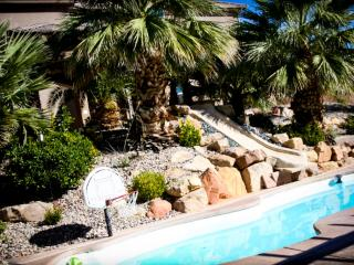 St. George Vacation Villa with pool, water slide, 8 bedrooms, theater & more! - Southwestern Utah vacation rentals