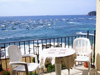 Beachfront Holiday Apartment, 4 bedroom, Sleeps 10 - Calella De Palafrugell vacation rentals