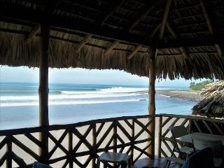 Front Row-  Ocean Front Surf House - El Salvador vacation rentals