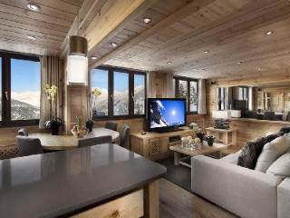 Contemporary Penthouse Pearl with panoramic views & ski-in/out access - Pralognan-la-Vanoise vacation rentals