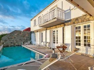 Private Sur le Port with harbor views, large pool, full A/C & central location - Gustavia vacation rentals