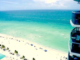 2BR Ocean Front Beach Furnished at Marenas Resort - Sunny Isles Beach vacation rentals