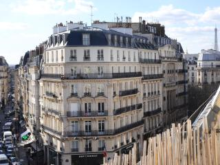 6th Floor Balcony View from Paris Studio - Paris vacation rentals