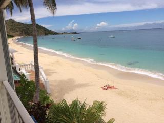 studio paradise feet in water on grand case beach. - Saint Martin-Sint Maarten vacation rentals