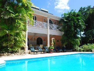 Located on the exclusive Sandy Lane Estate, the second floor of this villa houses a minstrel's gallery. RL DEN - Sugar Hill vacation rentals