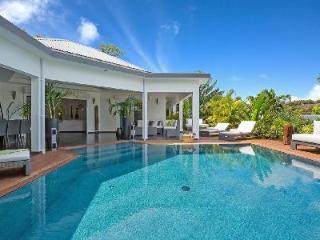Modern villa Carmen, hillside with gourmet kitchen, heated pool & daily maid - Vitet vacation rentals