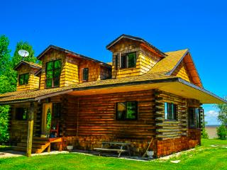 Rustic Lakefront Loghouse on 5 acres in Traverse B - Traverse Bay vacation rentals