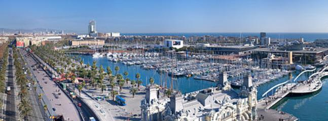 View from Columbus Monument! - SUNNY RAMBLA, up to 11! Sea views! - Barcelona - rentals