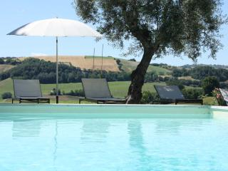 Private Villa, 8 sleeps, pool, wi-fi, Macerata - Monte san Martino vacation rentals