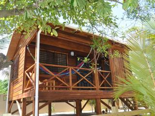 1 BR Baby Blue Cabana on Beachfront Lot with Sea Views, Hopkins, Belize - Stann Creek vacation rentals