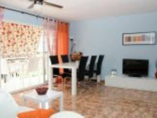 Beachfront apartment 6 people with pool,100m train - Calella vacation rentals