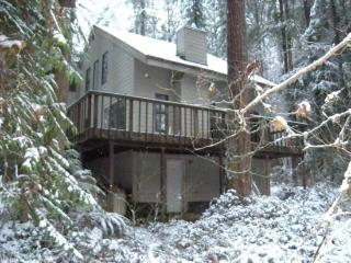 Snowline Cabin #92 - A lovely 2-story home thats pet-friendly! Sleeps 8! - Glacier vacation rentals