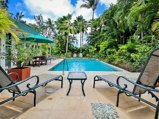 Jessamine short walk to superb beach at Gibbs Bay with lush garden, pool & staff - Gibbs Bay vacation rentals
