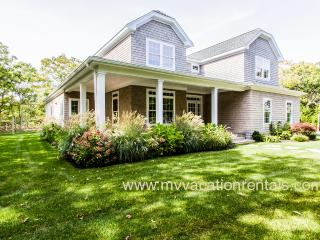 WALSB - New Contemporary Luxury Home,  Heated Pool 18 x 40, Luxury Amenities, Central A/C Levels one and two,  Screened Porch, P - Martha's Vineyard vacation rentals