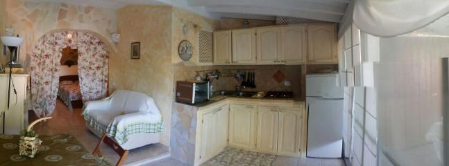 Cucina - panoramica - Cahlet withn garden very close to the sea - Olbia - rentals
