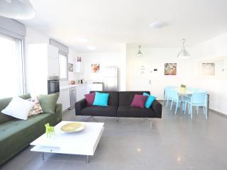 Luxury 100sqm Gorgeous Beach Flat - Ben Yehuda - Israel vacation rentals
