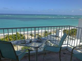 Fantastic Beach at Your Feet -Steps from Casinos - Isla Verde vacation rentals