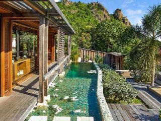 Bali-inspired hillside Casa Zenial with pool, BBQ & daily maid 5 min to Saline beach - Grande Saline vacation rentals
