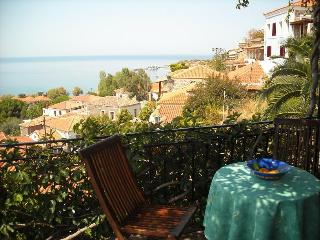 Large balcony panoramic view - Molyvos vacation rentals