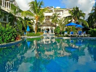 Beachfront condo with a communal freeform swimming pool as the focal point - Lascelles Hill vacation rentals
