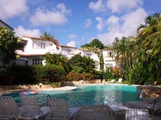 Spectacular 3 bedroom villa set in a prestigious, private complex - right on the ocean's edge - Lascelles Hill vacation rentals
