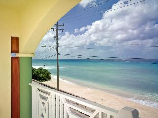 Fantastic 2 bedroom condo overlooking the ocean. Spacious living area with balcony. - Saint Peter vacation rentals