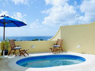 Barbados 249 is an end of row townhouse that comes complete with an open plan living area, equipped kitchen and sea view terrace - Saint James vacation rentals