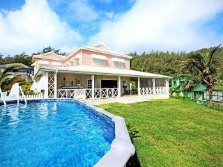 Beautiful 5 bedroom villa, located on the beach. Large swimming pool and gardens - Saint Joseph vacation rentals